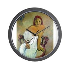Cute Paul gauguin Wall Clock