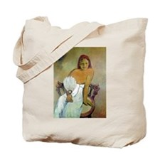 Funny Post impressionist Tote Bag