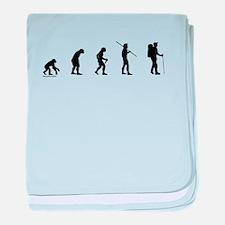 Hiker Evolution baby blanket