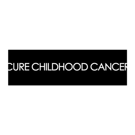 Cure Childhood Cancer 36x11 Wall Peel