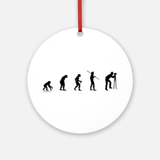 Photog Evolution Ornament (Round)