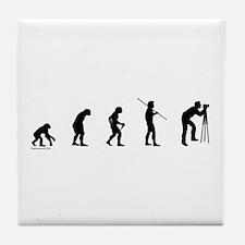 Photog Evolution Tile Coaster