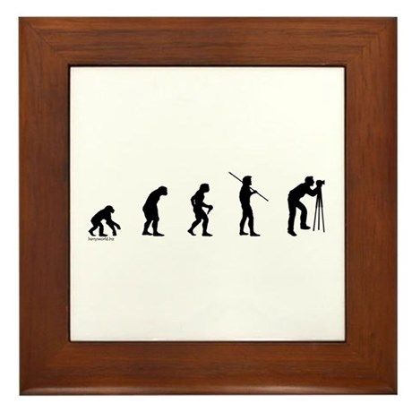 Photog Evolution Framed Tile
