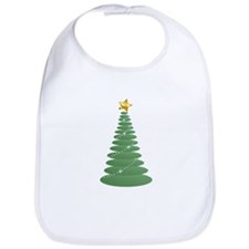 Simple Green Christmas and St Bib