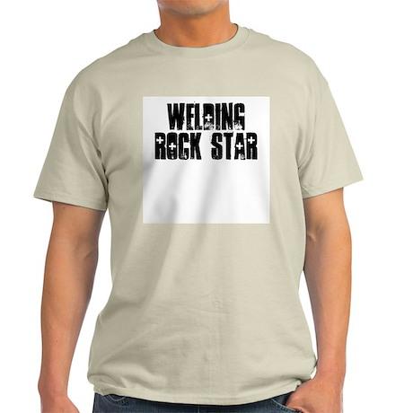 Welding Rock Star Light T-Shirt