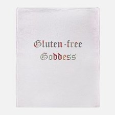 Gluten-free Goddess Throw Blanket