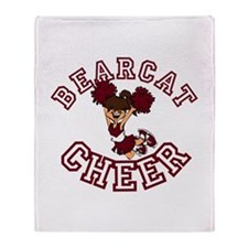 BEARCAT CHEER *7* Throw Blanket