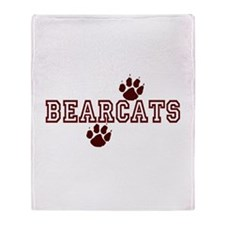 BEARCATS (5) Throw Blanket