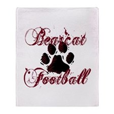 Bearcat Football (1) Throw Blanket
