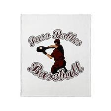 PASO ROBLES BASEBALL (9) Throw Blanket