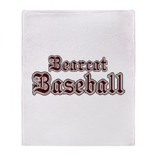 BEARCAT BASEBALL (1a) Throw Blanket