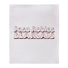 PASO ROBLES BEARCATS (23) Throw Blanket