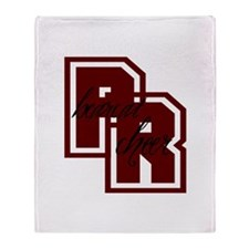 PR bearcat cheer (1) Throw Blanket