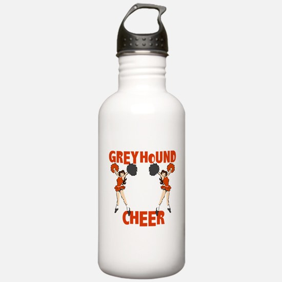 GREYHOUND CHEER (4) Water Bottle