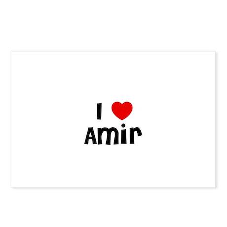 I * Amir Postcards (Package of 8)