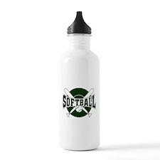 SOFTBALL *1* {green} Water Bottle