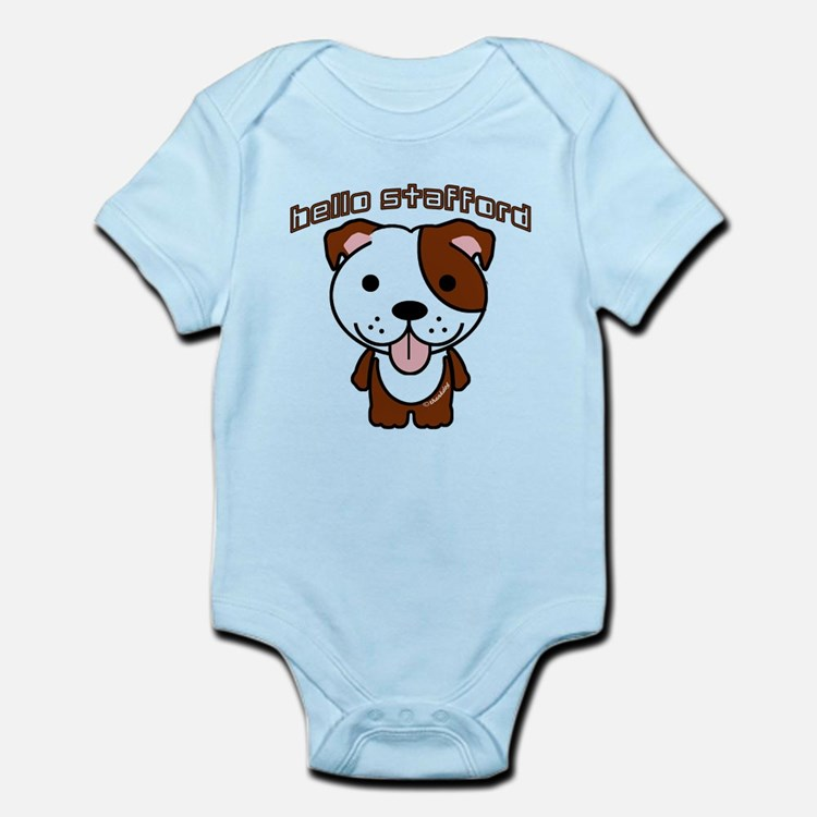 Hello Stafford Infant Bodysuit