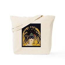 Cute Art deco ladies Tote Bag