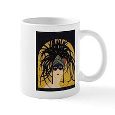 Art Deco Lady Mugs