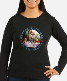 WE'RE ALL MAD - BLUE T-Shirt
