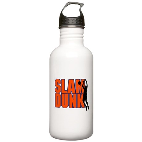 SLAM DUNK *2* {orange/blue} Stainless Water Bottle