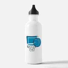 BASKETBALL *52* {blue} Water Bottle