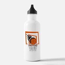 BASKETBALL *51* {orange} Water Bottle