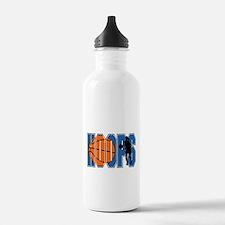 HOOPS *2* {blue} Water Bottle