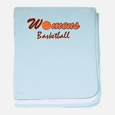 WOMENS BASKETBALL *1* {orange baby blanket
