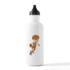 BASKETBALL *40* {lt orange} Water Bottle
