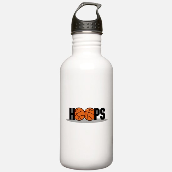 HOOPS *2* {black} Water Bottle