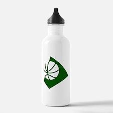 BASKETBALL *34* {green} Water Bottle