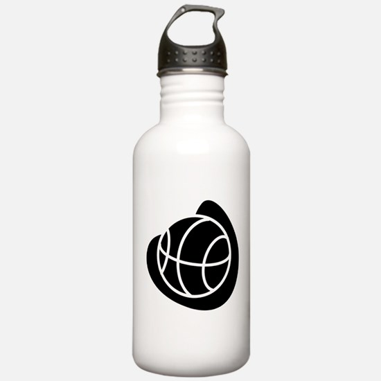 BASKETBALL *20* {black} Water Bottle