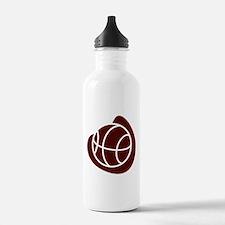 BASKETBALL *20* {crimson} Water Bottle