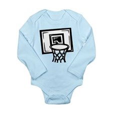BASKETBALL *14* {black} Long Sleeve Infant Bodysui