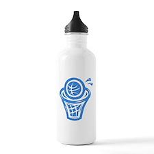 BASKETBALL *13* {blue} Water Bottle