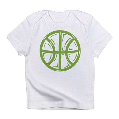 BASKETBALL *11* {green} Infant T-Shirt