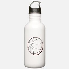 BASKETBALL *9* {crimson} Water Bottle