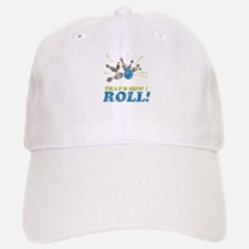 How I Roll Baseball Baseball Cap