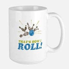 How I Roll Large Mug