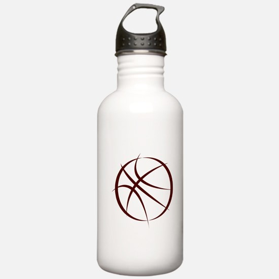 BASKETBALL *6* {crimson 4} Water Bottle