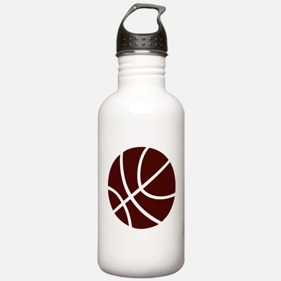 BASKETBALL *2* {crimson} Water Bottle