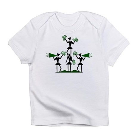 CHEER *29* {green} Infant T-Shirt