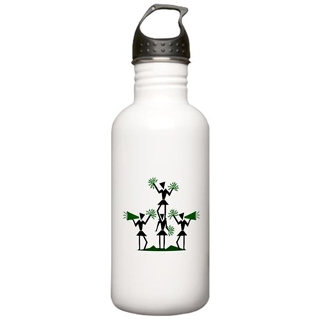 CHEER *29* {green} Stainless Water Bottle 1.0L
