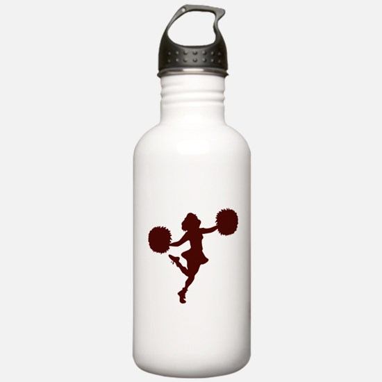 CHEER *14* {maroon} Water Bottle
