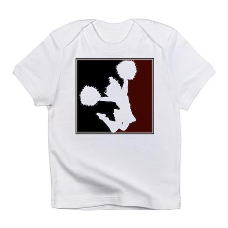CHEER *11* {crimson/black/whi Infant T-Shirt