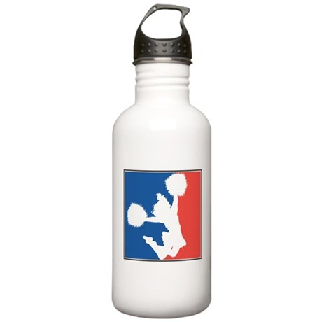CHEER *11* {red/white/blue} Stainless Water Bottle