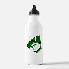 FOOTBALL *43* {green} Water Bottle