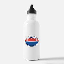 FOOTBALL *36* {red/white/blue Water Bottle
