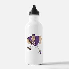 FOOTBALL *31* {purple} Water Bottle